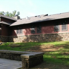 Group Lodge Rear Elevation